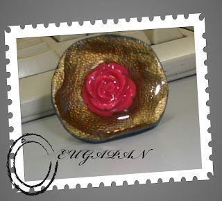 handmade leather ring