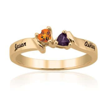 Couples Rings : Personalized Gems