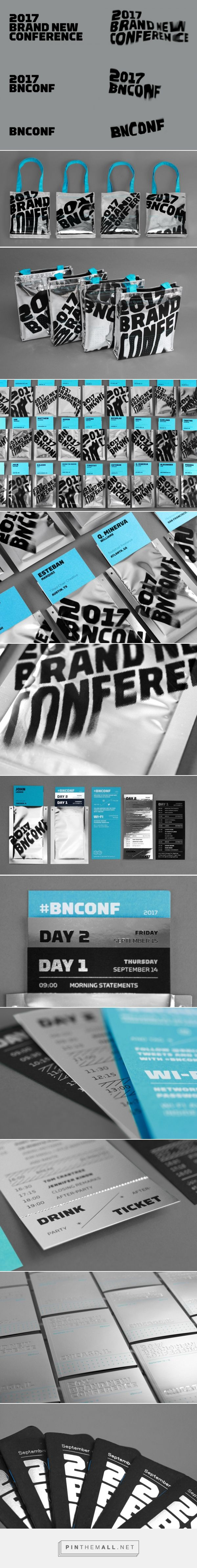 Brand New: New Logo and Identity for 2017 Brand New Conference by UnderConsideration... - a grouped images picture - Pin Them All