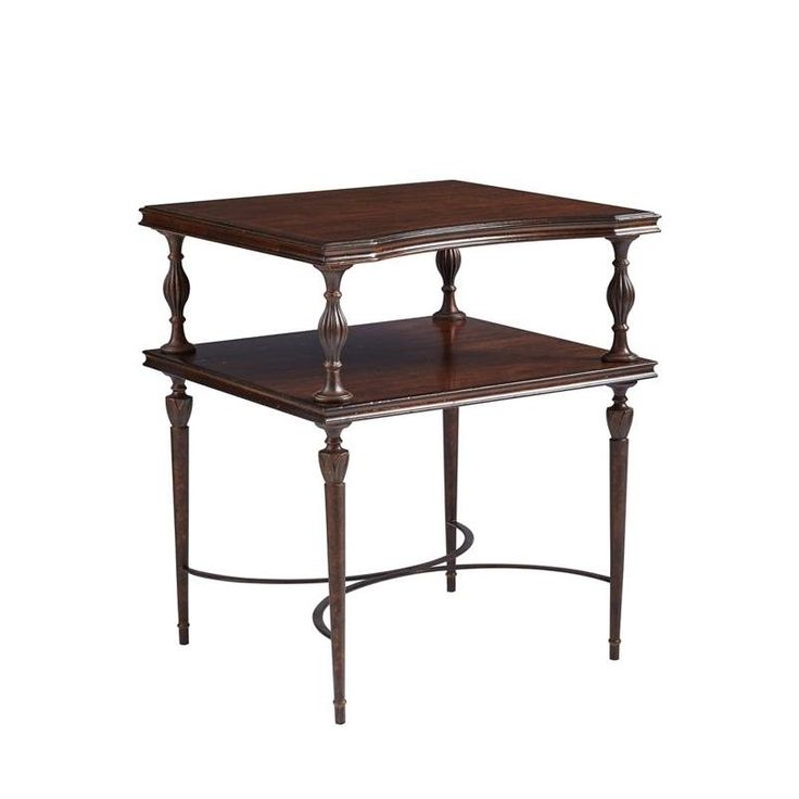 Villa Couture Catarina End Table in Mottled Walnut - 510-15-09 - Living Room - Stanley Furniture