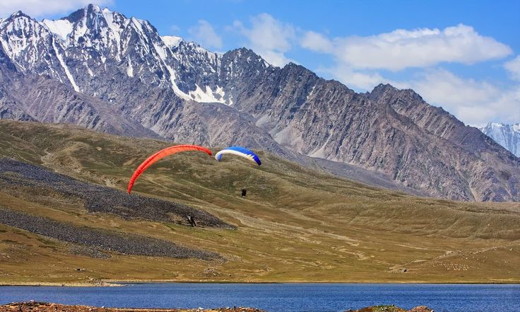 16. Shandur Lake, Shandur Top, GB
