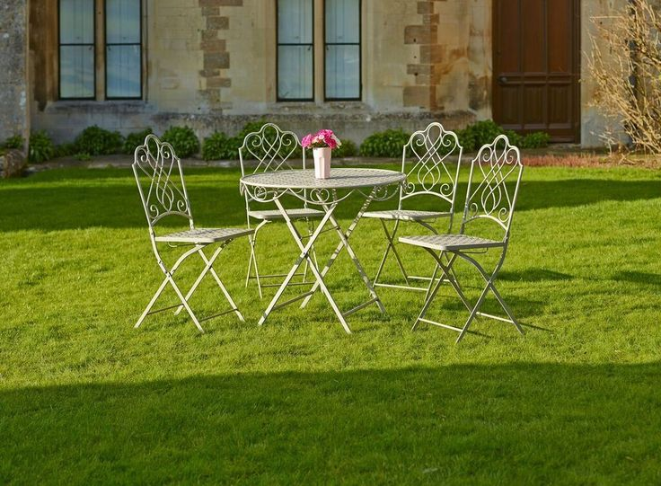 Gardman Tea For Four Folding Garden Table And Chair Set Free Delivery | eBay