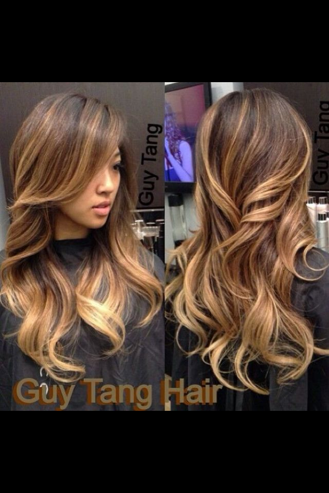 Chunky ombre highlights | Beauty | Pinterest | Highlights ...