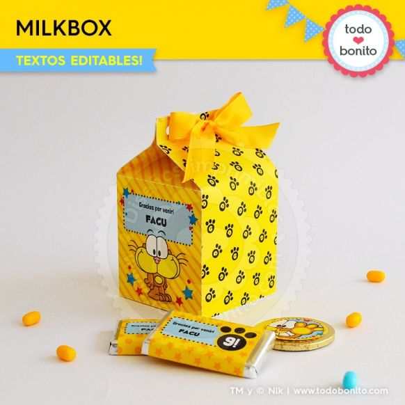 Gaturro: cajita milkbox