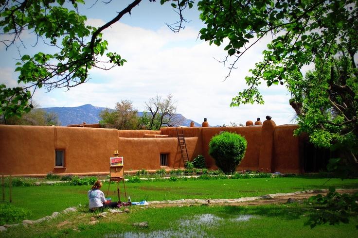 Georgia O'Keefe Museum 217 Johnson Street 87508 505-946-1000    #Santa Fe #Getaway