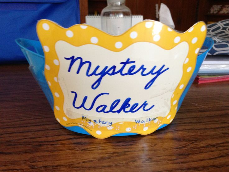 Mystery Walker Management Game:   Choose a mystery walker when walking to specials or lunch, but don't tell them who it is! They'll earn a class point if the mystery walker follows directions and walks quietly, and the mystery walker is announced to the class. If the mystery walker is not quiet, they won't earn a point but the mystery walker is not revealed so as not to publicly shame him/her. My kids love this!