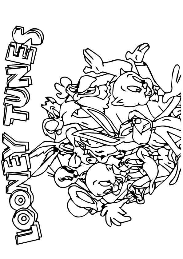 17 Best Images About Coloring Looney Tunes On Pinterest