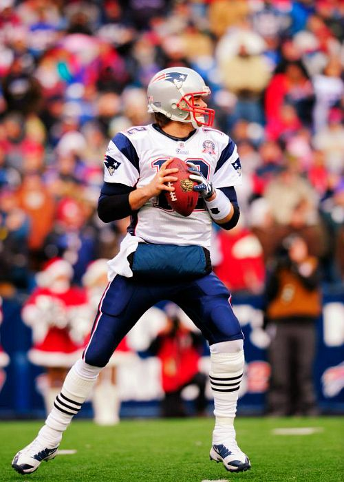 If you see Tom Brady with long hair during the season, be prepared for him to breakdown and annihilate defenses. He becomes an assassin at this point in time.