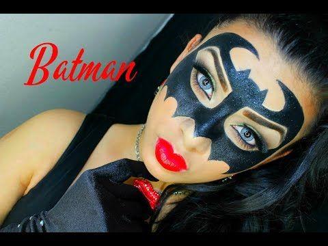 Batman Inspired Makeup Tutorial | Charisma Star - YouTube