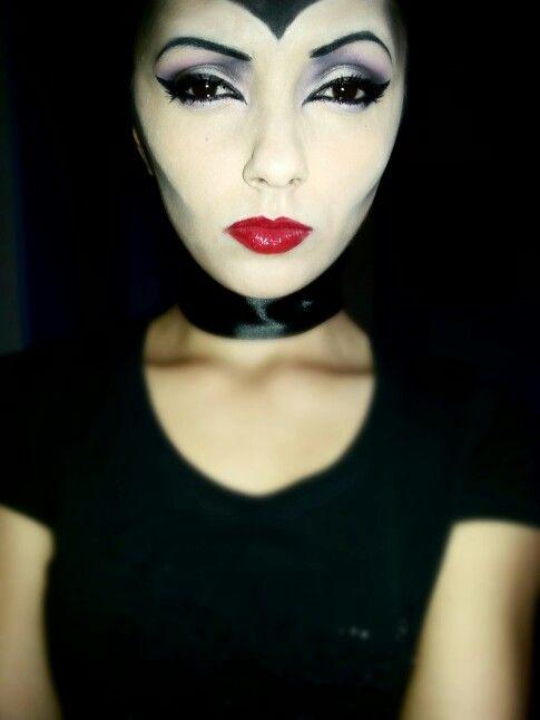 Maleficent make-up