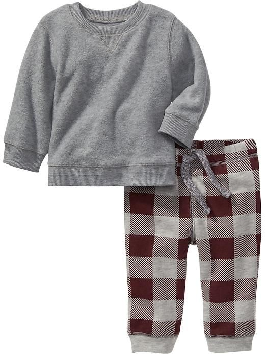 Micro Fleece Two-Piece Set for Baby