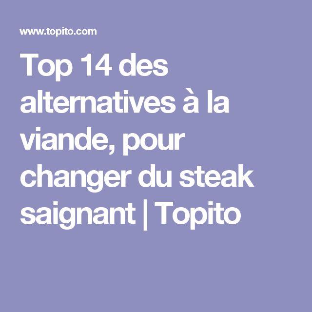 Top 14 des alternatives à la viande, pour changer du steak saignant | Topito