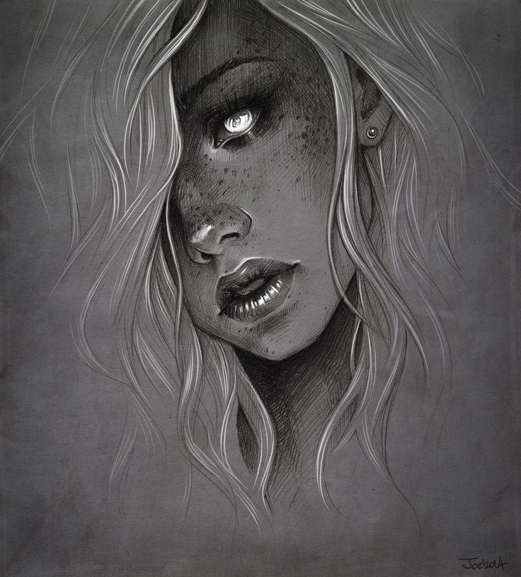 Girl. Ver2 by sashajoe on DeviantArt