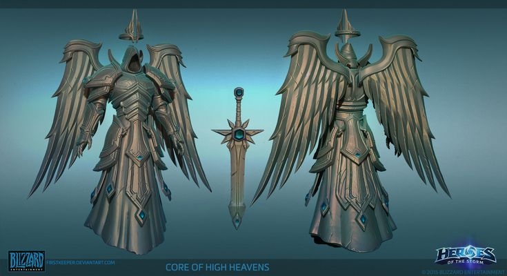 Heaven Core Hipoly by FirstKeeper on DeviantArt