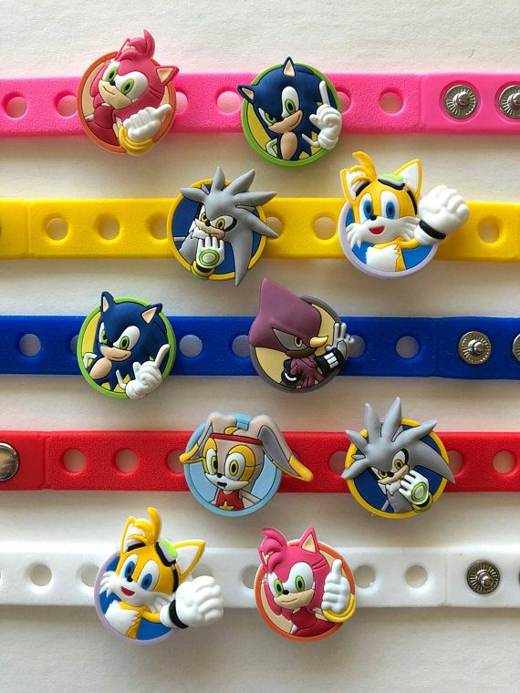 Sonic The Hedgehog Party Favors Sonic Hedgehog Party Sonic Sonic Party Hedgehog Birthday Party Favors