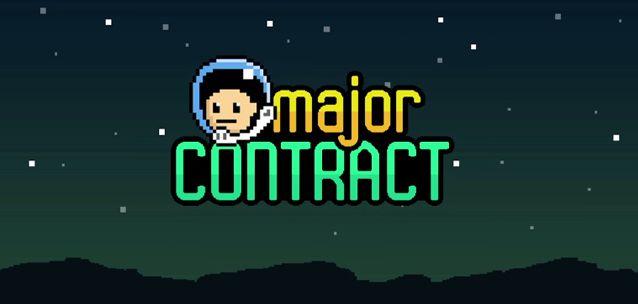 #MajorContract per #Android e #WP - un #arcade #8BIT spaziale da provare!  http://xantarmob.altervista.org/?p=33382   #game #indiegames