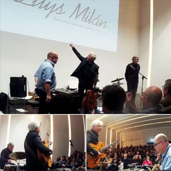 El virtuoso y carismático guitarrista valenciano ofreció un extraordinario concierto de guitarra jazz acompañado por el pianista Santi Navalón y el percusionista Vicente Espí en el Centro Cultural …