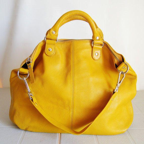 sac a main jaune