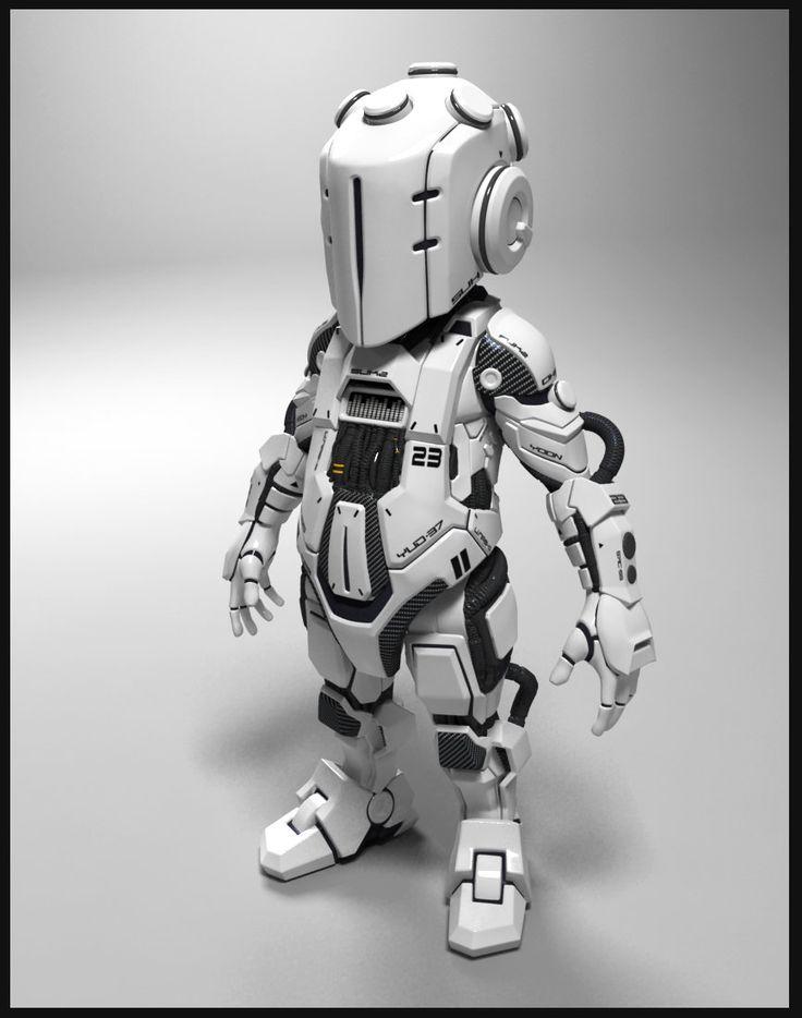 Robot -01, choi yoonsuk on ArtStation at http://www.artstation.com/artwork/robot-01