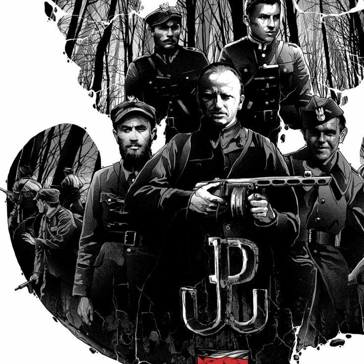 Żołnierze Wyklęci: Nieśmiertelni Bohaterowie - Sklep z odzieżą patriotyczną Red is Bad