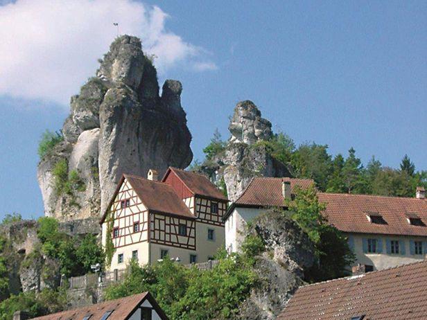 Tüchersfeld | Tüchersfeld in der Fränkischen Schweiz | Tüchersfeld in der Fränkischen Schweiz: Tüchersfeld, Fränkische Schweiz, Püttlachtal