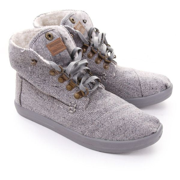 79eae430bcc Discover ideas about Toms Boots. Toms Toms Wool Fleck Fleece Botas Grey -  Toms from Blueberries UK
