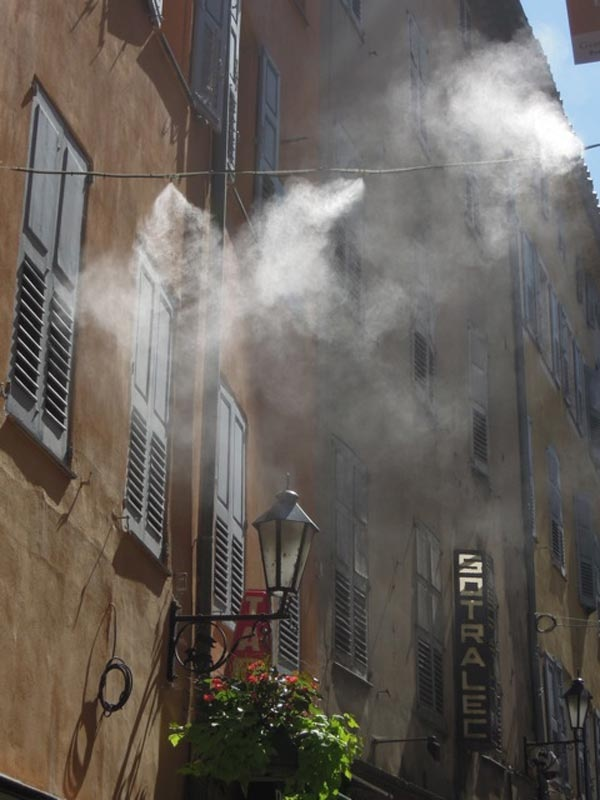 This is perfume mist in Grasse, France.....not sure I need to explain on how many levels this inspires me. Let me just say this, I promise, as you walk into my shop on Beverly Blvd, you will be guided by a gentle perfume mist...