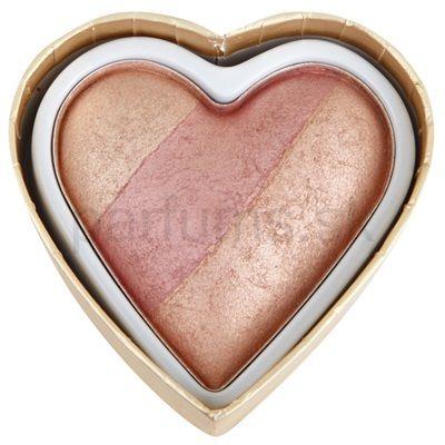 Lícenka MAKEUP REVOLUTION I ♥ MAKEUP BLUSHING HEARTS   parfums.sk