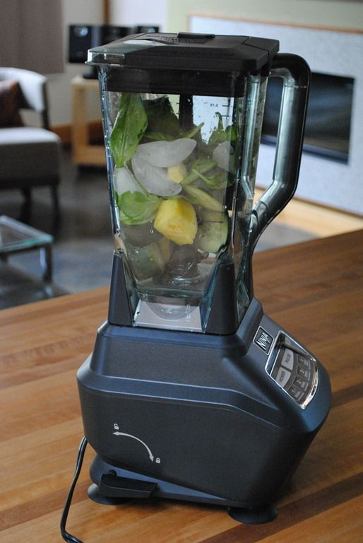 Dr. Oz Green Juice modified for Ninja Blender: Once cucumber, ½ cup pineapple, 4-5 kale leaves, 5-6 mint leaves, small chunk of fresh ginger ad ½ (2 tb) of squeezed lemon and 4 ice cubes. Blend. Drink. Repeat.