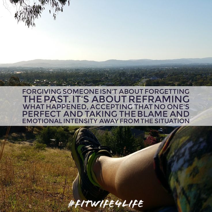 Forgiving someone isn't about forgetting the past. It's about reframing what happened, accepting that no one's perfect and taking the blame and emotional intensity away from the situation #forgive #dontforget #acceptance #love #bridalicious #fitwife4life @fitwife4life
