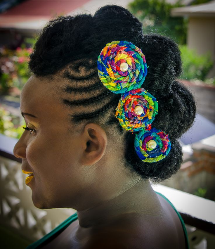 Crochet Braids Mohawk : Crochet braid Mohawk with hair accessory Beautiful Crochet braids ...