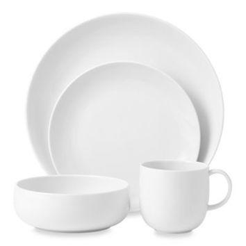 Royal Doulton® Mode White 4-Piece Dinnerware Set
