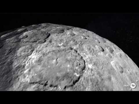 A volo d'uccello sui crateri di Cerere