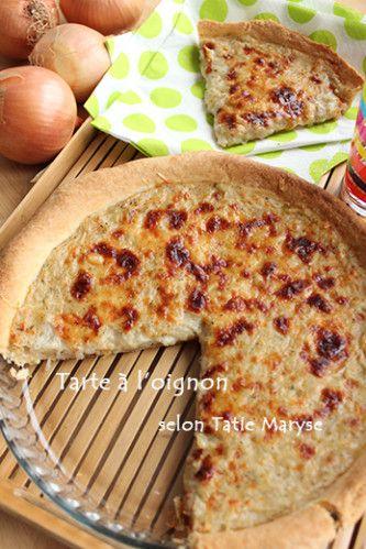 Tarte à l'oignon créole - recette clic sur photo