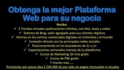 Adquiera su Plataforma Web...Usted la Administra Bogotá D.C.