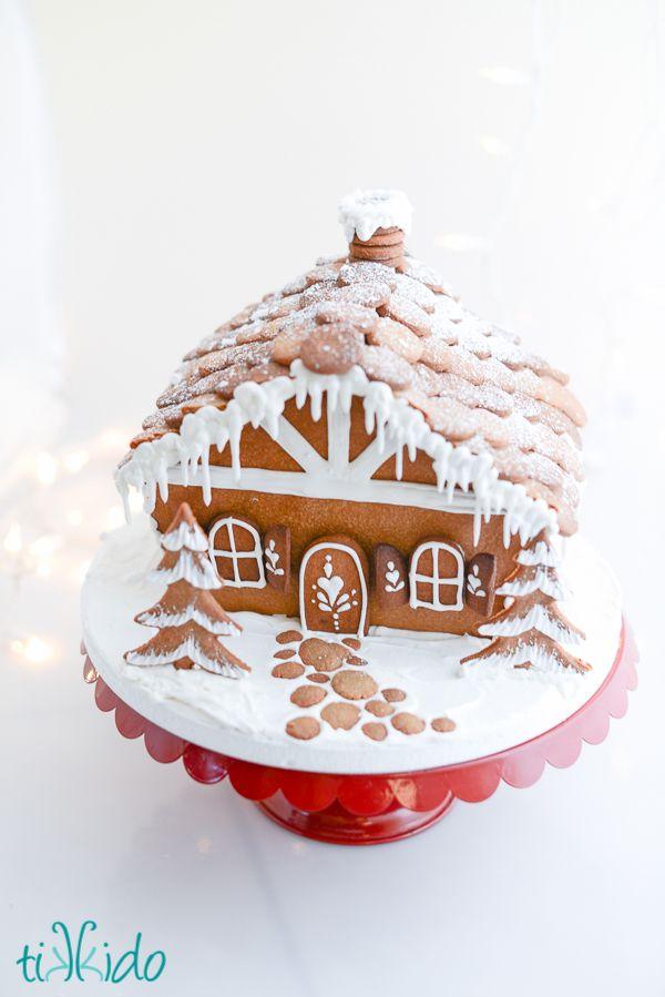 How to Make Gingerbread Cobblestones for a Gingerbread House | TikkiDo.com