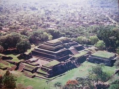 Ruins of Tazumal,  Chalchuapa, El Salvador