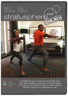 Limited Edition DVD Stratusphere Yoga for Men, featuring Joe Carter, commemorates the 20th Anniversary of the Blue Jays' World Series win