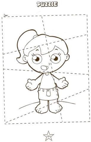 Human body - Corpo humano    Veja também:Atividades de Inglês Família e Cores.   Hair, ear, nose, mouth, leg, foot, eye, arm, hand, finger,...