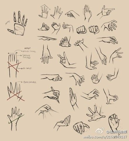 Hands are always so hard for me to draw #drawing tutorial