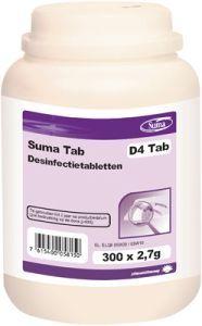 Produs nou! Suma D4 Tab, tablete dezinfectante pentru fructe si suprafete.