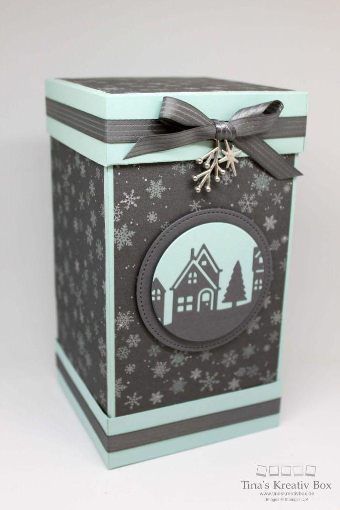 Große Weihnachtsverpackung Winterstädtchen - mit Produkten von Stampin' Up!