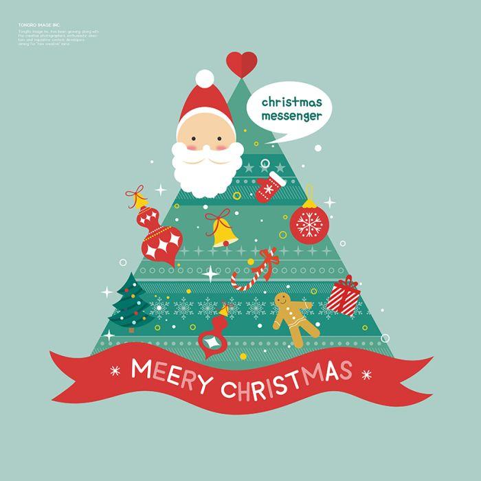 Cartoon Vector Christmas Tree Vector Cartoon Christmas Tree Christmas Tree Christmas Noel Christmas Tree Images Christmas Vectors Meery Christmas