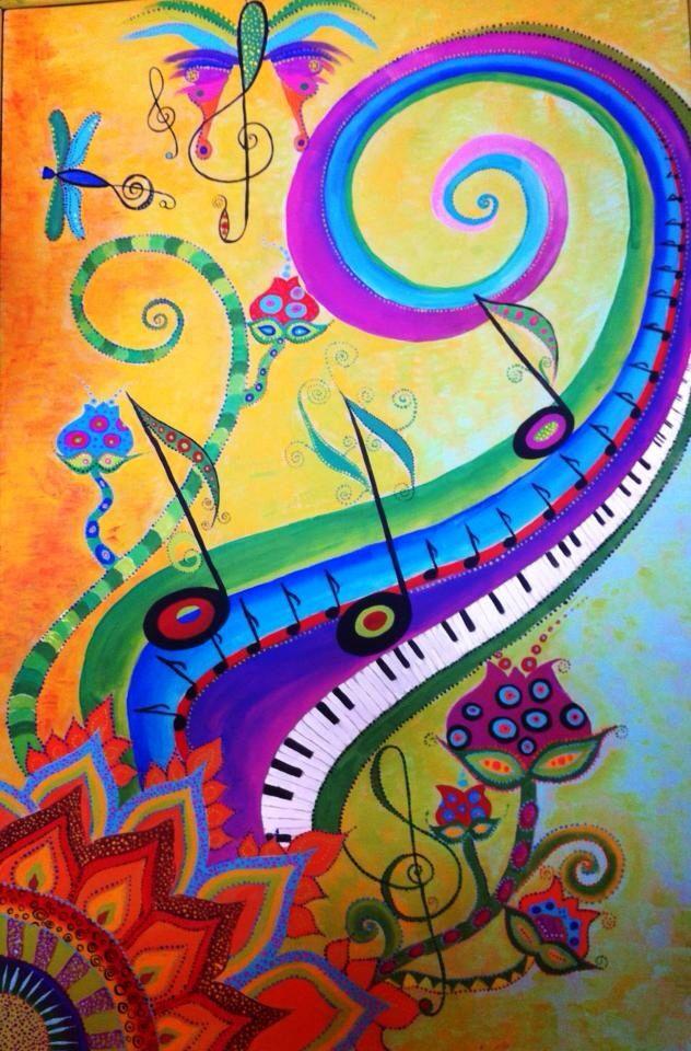 рисуем музыку в картинках только то, что