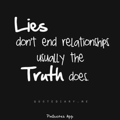 In het begin na de breuk met een narcist is het lastig maar het deel van jou dat er geen contact wil, is het deel wat de waarheid kent.