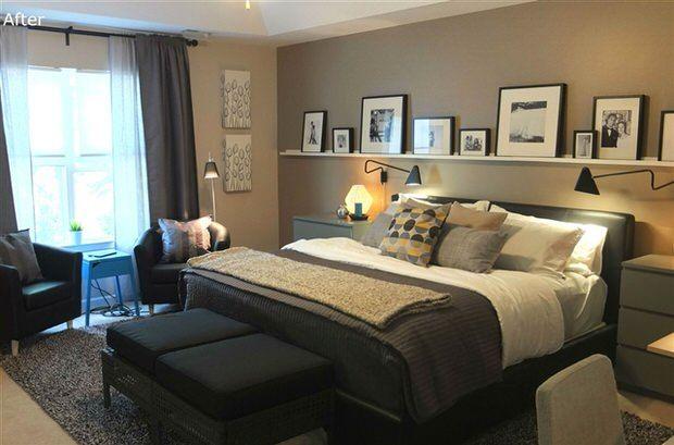 47 best images about idee n voor het huis on pinterest shades of grey ramen and belgium - Master bedroom deco ideeen ...