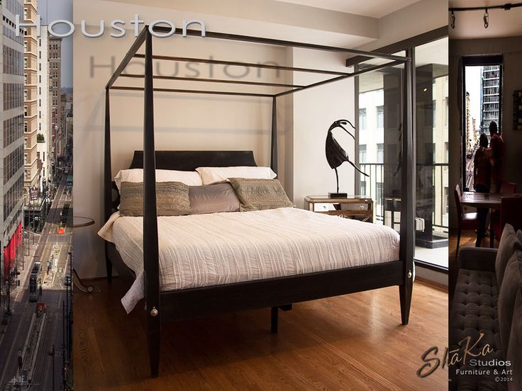 17 best ideas about primitive painted furniture on - Four poster king size bedroom sets ...