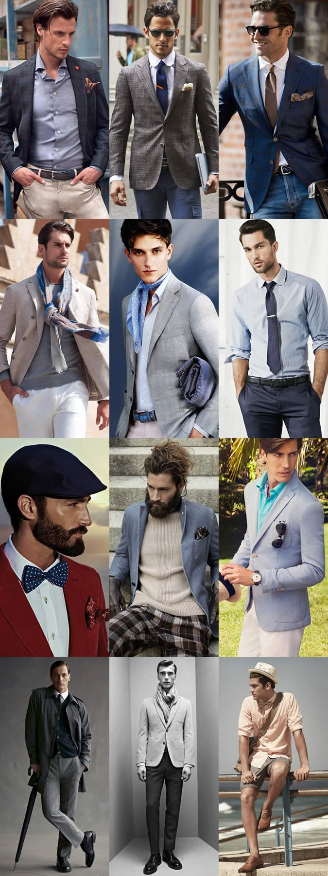 Which of these Gentleman do you think is best dressed?
