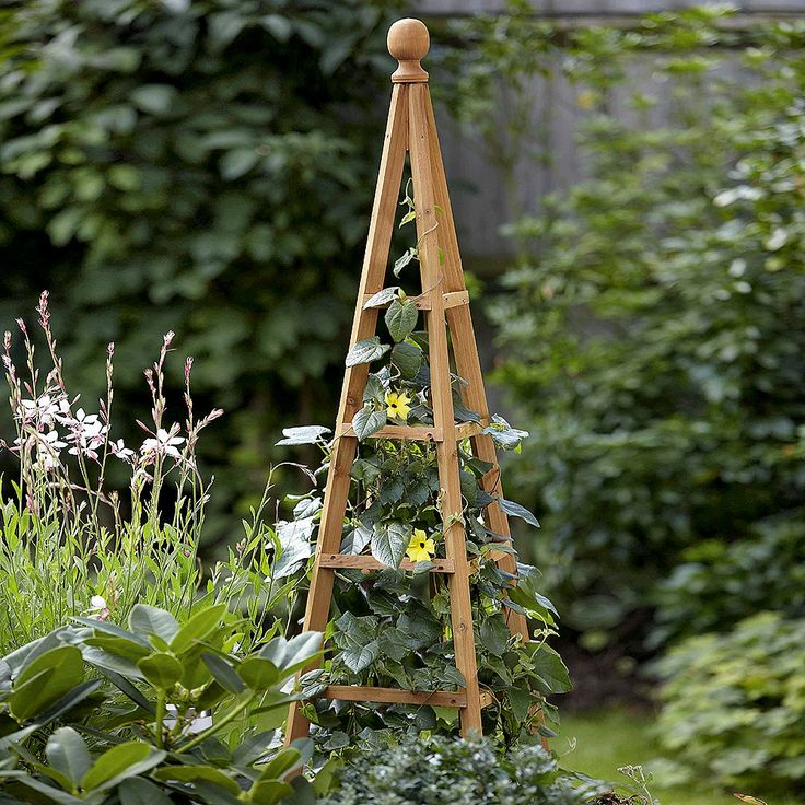Woodland Obelisk Large Smart garden, Plant supports