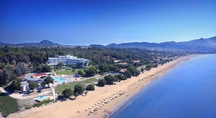 Laganas Beach in front of Louis Zante Beach Hotel in Zakynthos